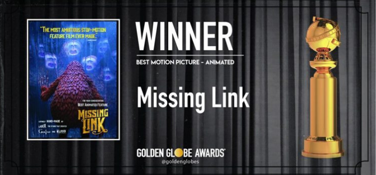 Best Animation Award goes to Missing Link